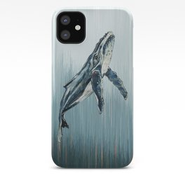 Watercolour Humpback Whale iPhone Case