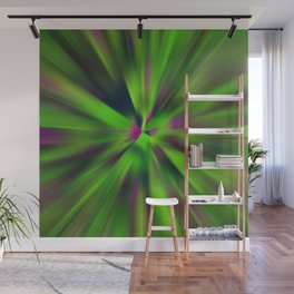 Abstract Fractal Background Wall Mural