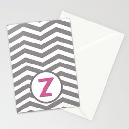 Chevron iPhone/iPod Cover - Monogram Z Stationery Cards
