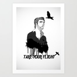 Take Your Flight  Art Print