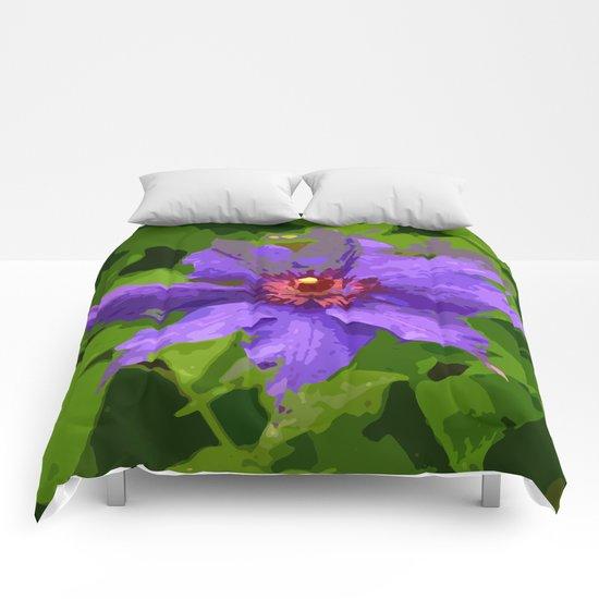 Flower III Comforters