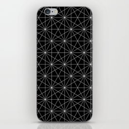 Intersected lines iPhone Skin