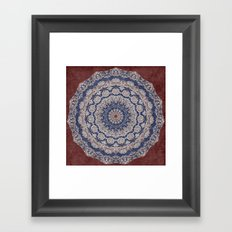 A Glorious Morning (Mandala) Framed Art Print