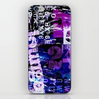 typo iPhone & iPod Skins featuring Lounge Typo by LebensART