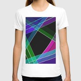 Multicolored silk 3 T-shirt