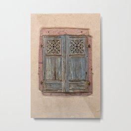 Old Window Metal Print