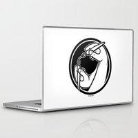logo Laptop & iPad Skins featuring Logo by Stephen Harris