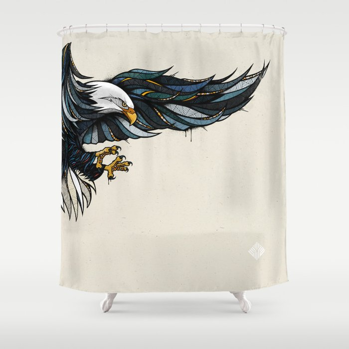Eagle Shower Curtain By Designerpreis
