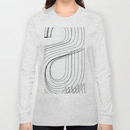 Helvetica Condensed 002 Long Sleeve T-shirt