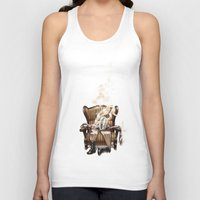 ghost in the shell Tank Tops featuring The Ghost in the Shell by Peejay Catacutan