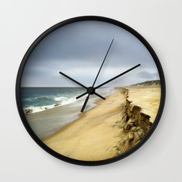 Stormy Evening on Hatteras Island Outer Banks, NC OBX  Wall Clock