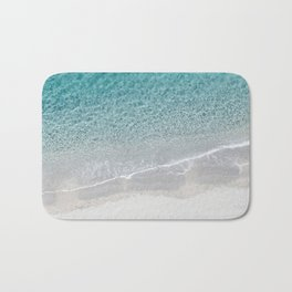 Drone Beach Bath Mat