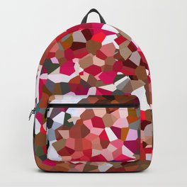 Ruby Red Heart Moon Love Backpack