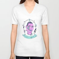 gucci V-neck T-shirts featuring Gucci Mane may or may not be guilty... by Brittney Maynard