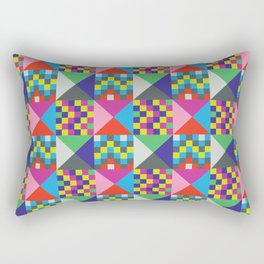 geometric//pattern//amazin-ness Rectangular Pillow