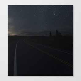 Geminid Road Canvas Print