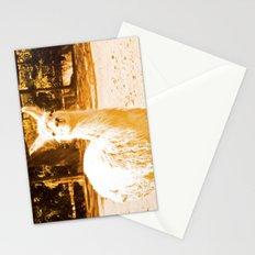 Alpaca yellowish. Stationery Cards