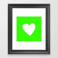 Dinosaur Heart Framed Art Print