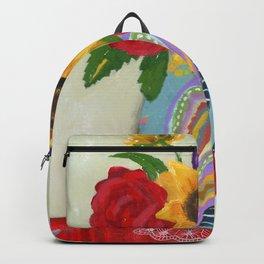 """""""Flowers for Frida 2"""" Backpack"""