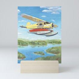 dehavilland beaver dhc-2 float plane Mini Art Print