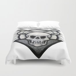 Demon Skull Duvet Cover
