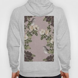 Birds and the Bees Pink Berry Hoody