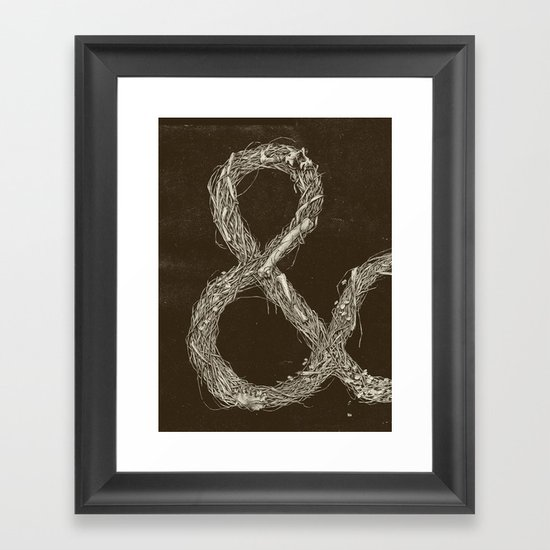 &,&,&: Part 1 Framed Art Print