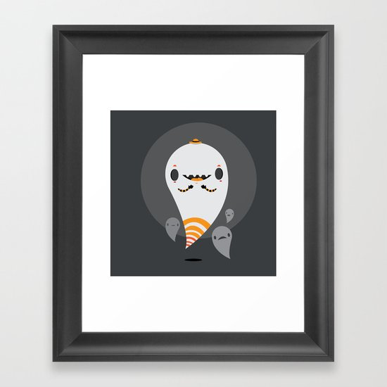 Ghosts Framed Art Print