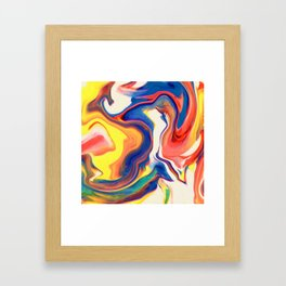 Light Style Framed Art Print