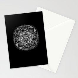Mandala psychedelic pattern spiritual Stationery Cards