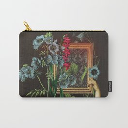 Florales Portrait Disaster Carry-All Pouch