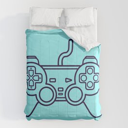 Playstation 1 Controller - Retro Style! Comforters