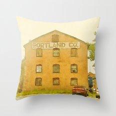 Portland Co. Throw Pillow
