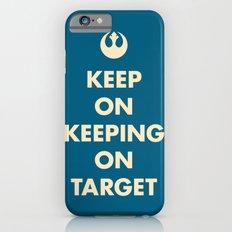 Keep On Keeping On Target (Blue) iPhone 6s Slim Case