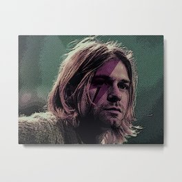 The man who sold the world Metal Print