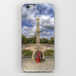 Russian War Memorial Budapest iPhone Skin
