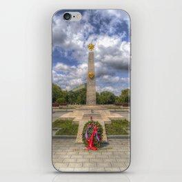 Russian War Memorial Budapest iPhone Skin