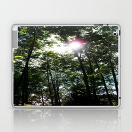 Afternoon Sun • Northpointe Fitness Park & Nature Trails • Marysville, WA Laptop & iPad Skin