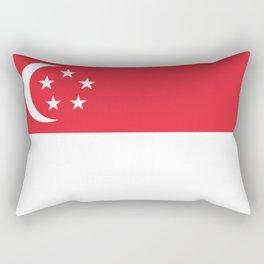 Flag of Singapore Rectangular Pillow
