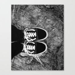 ShoeStump Canvas Print