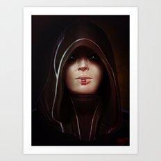 Mass Effect: Kasumi Goto Art Print