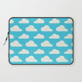 Fluffy clouds Laptop Sleeve