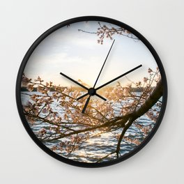 Sun Over the Horizon Wall Clock