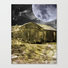 Prairie Life Digital Canvas Print
