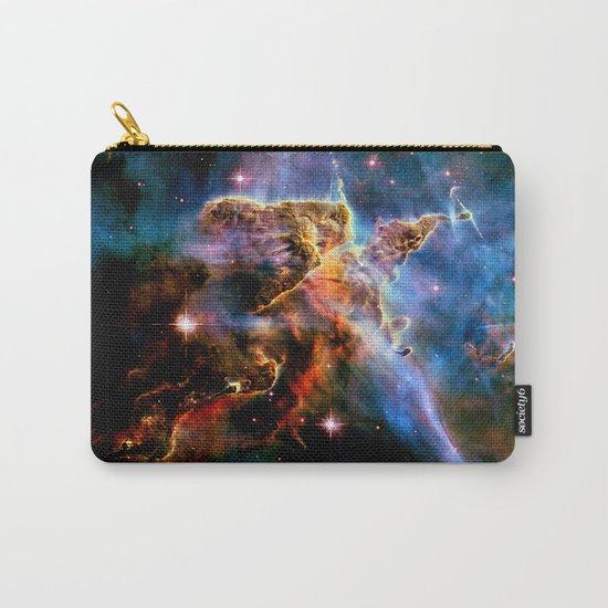 GAlAxY : Mystic Mountain Nebula Carry-All Pouch