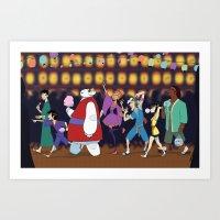 Matsuri Time Art Print