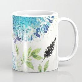 Dandelions Blue Coffee Mug
