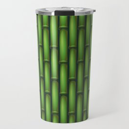 Bamboo Basketweave  Travel Mug