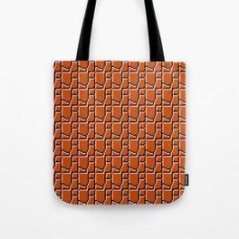 8-bit bricks Tote Bag