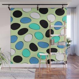 Polka Dotts Colorful Pattern Wall Mural